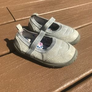 Other - 3/$20 Toddler Girls Sparkly Slip On Sneakers Sz 6